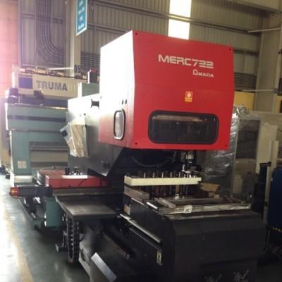 Máy đột CNC - AMADA  MERC-722, 1998